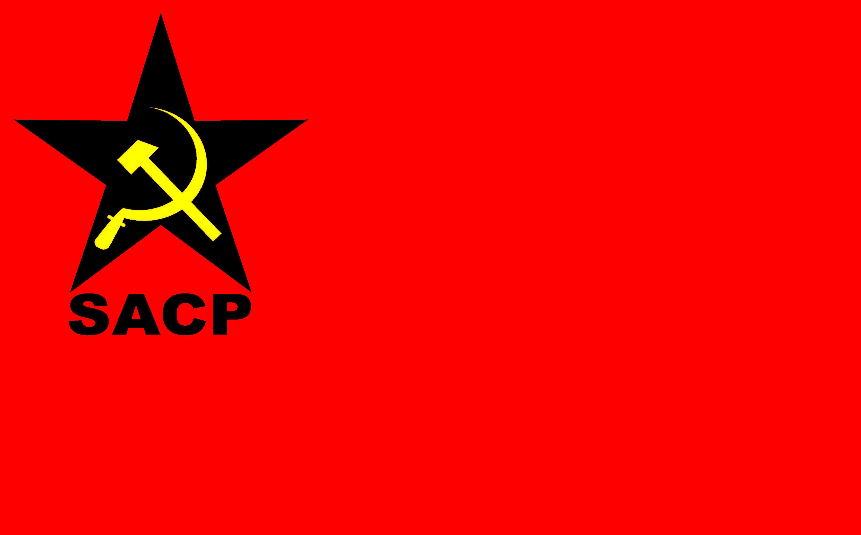 South african communist party sacp sacp flag with the abbreviated name beneath the party logo buycottarizona